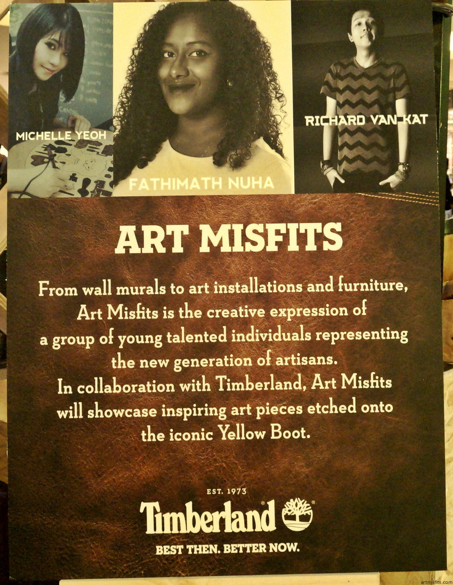 Art Misfits Timberland: A Classy Event for a Classic! 1