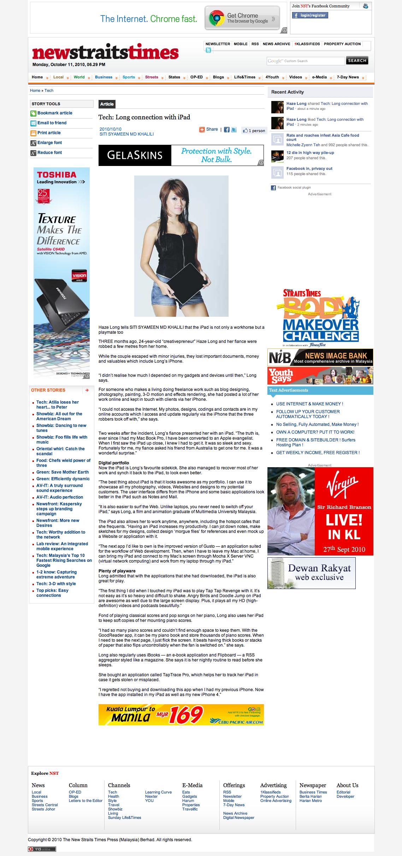 Art Misfits News Straits Times