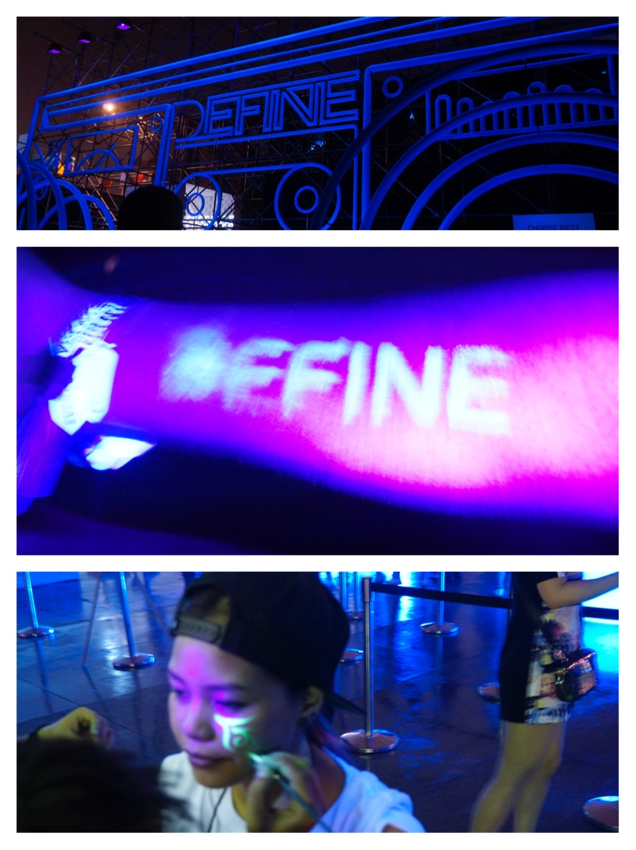 Art Misfits Future Music Festival Asia for Define 4