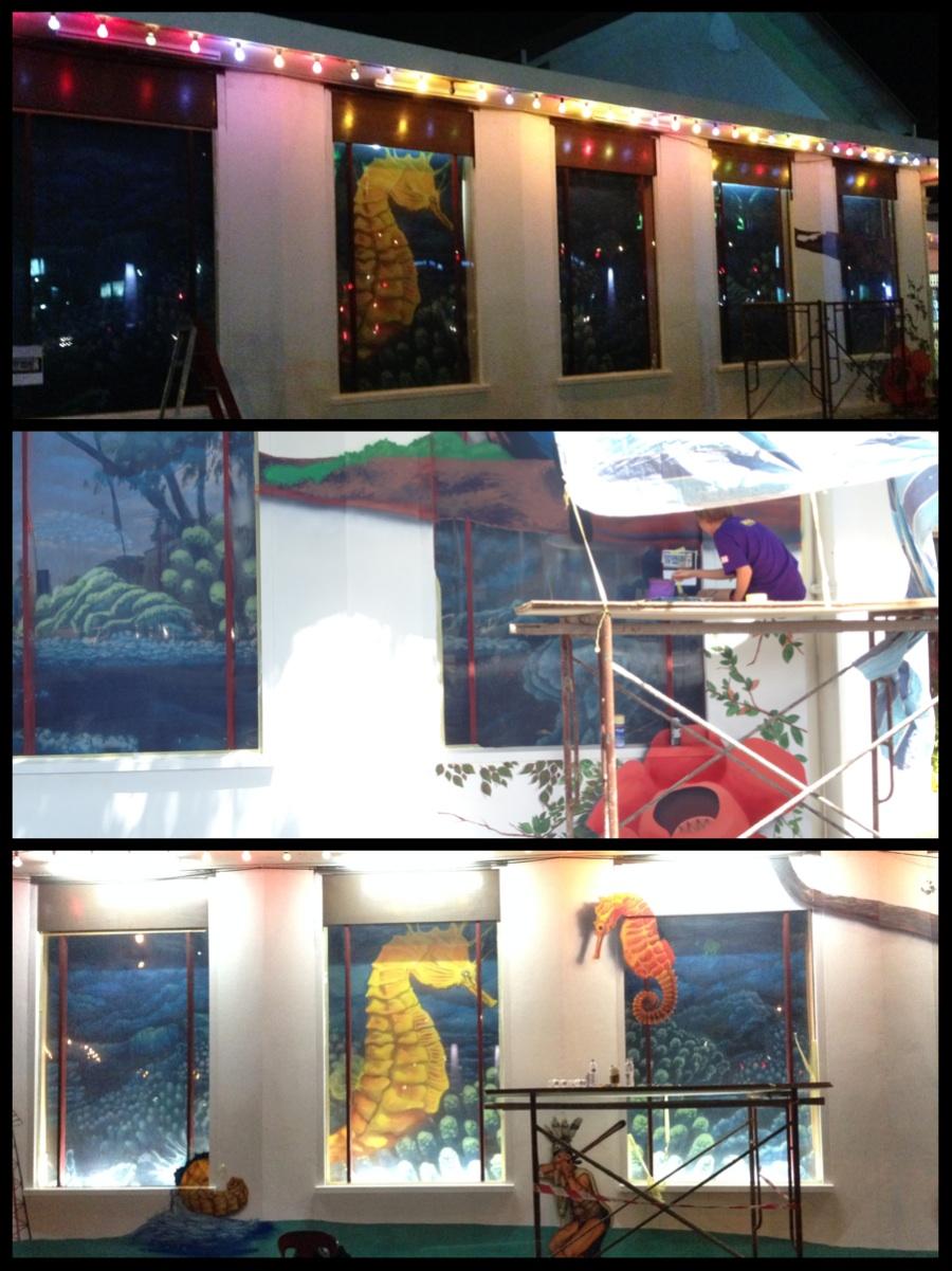 Art Misfits iM4u 3D mural for Miri Handicraft Center 6