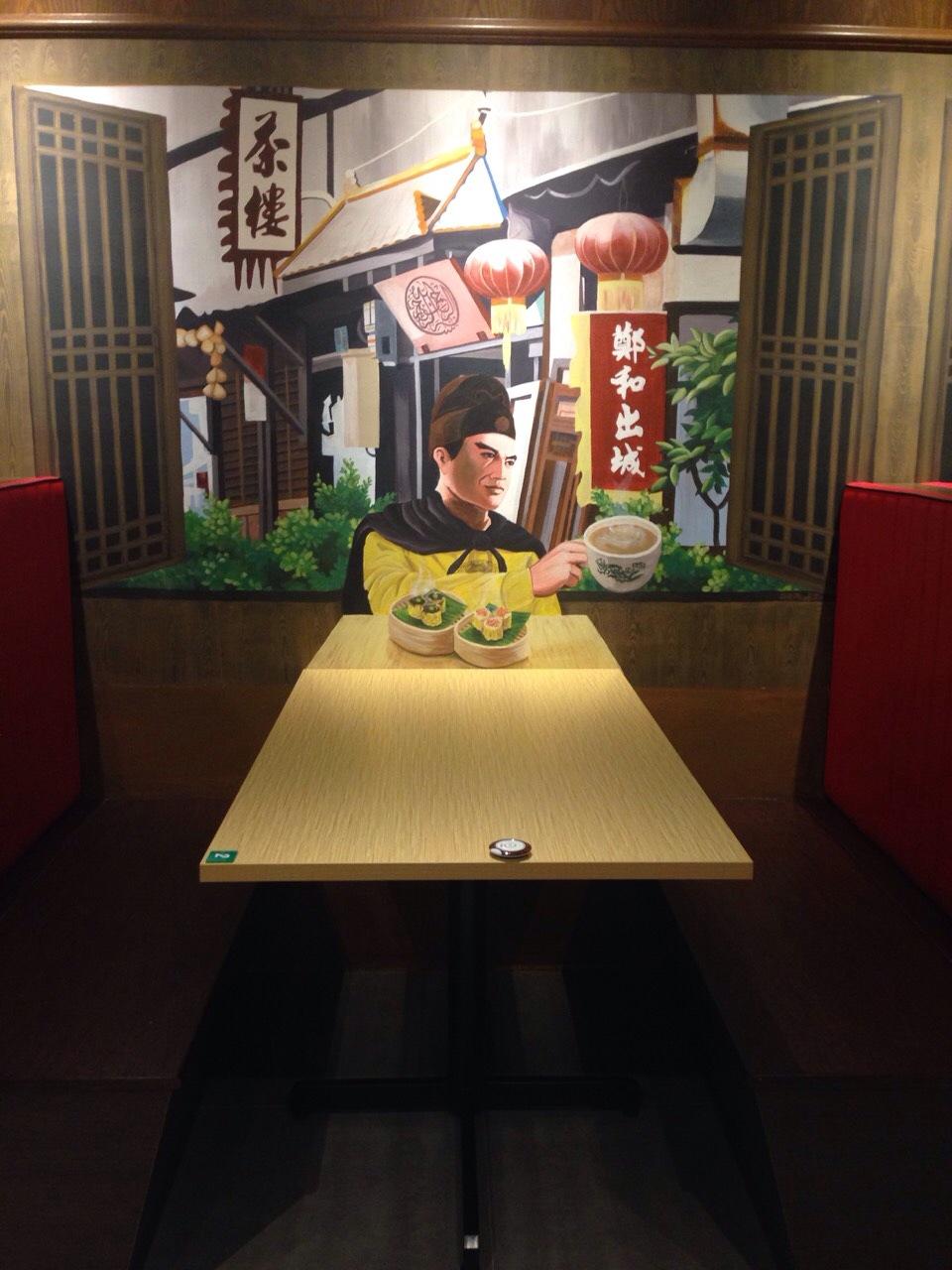 Art Misfits 3d mural for Mohd Chan's restaurant 2