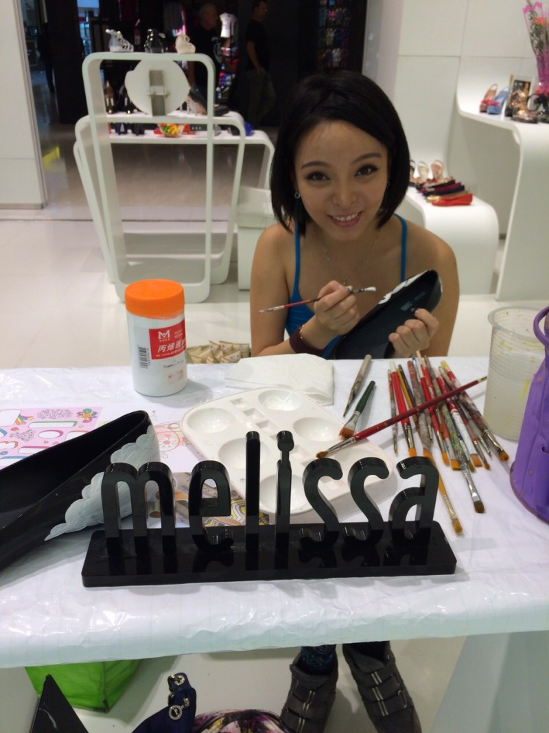 Art Misfits Shoes Painting for Melissa Malaysia 12