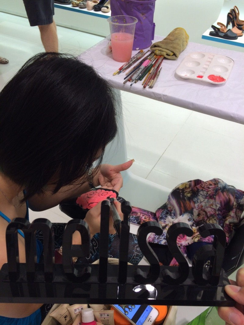 Art Misfits Shoes Painting for Melissa Malaysia 14